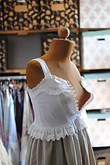 Detské oblečenie - Vintage šaty pre slečnu - 10645269_