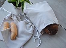 Úžitkový textil - Vrecká na pečivo z ľanu - 10646812_