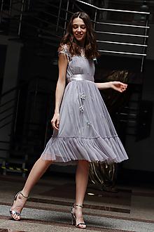 Šaty - Tylové romantické šaty - 10648196_