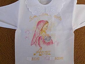 Detské oblečenie - krstná košieľka - 10648532_