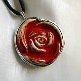 Náhrdelníky - Ruža - 10650095_