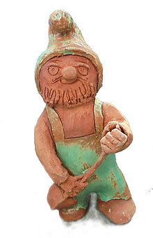 Dekorácie - Trpaslík do exteriéru, keramika - 10649711_