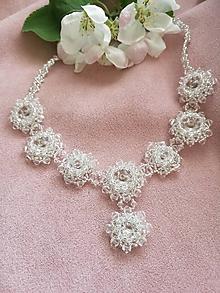 Náhrdelníky - Swarovski náhrdelník Crystal Stars - 10648763_