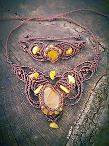 Sady šperkov - V objatí slnka - 10649644_