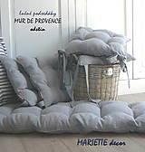 Úžitkový textil - Lněné podsedáky MUR DE PROVENCE - 10647387_