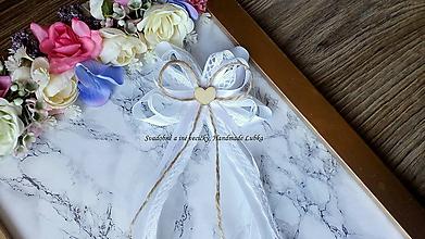 Pierka - Veľké vintage pierko pre starejšieho v bielom - 10647964_