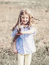 Detské oblečenie - Košieľka kockovaná