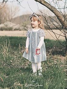 Detské oblečenie - Pásikované šaty
