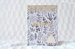 Papiernictvo - Receptárik (bylinky, čajník) - 10650145_