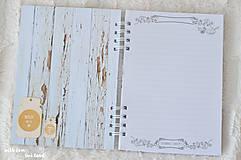 Papiernictvo - Receptárik (bylinky, čajník) - 10650146_