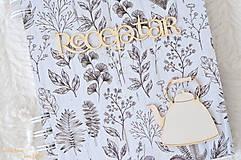 Papiernictvo - Receptárik (bylinky, čajník) - 10650147_