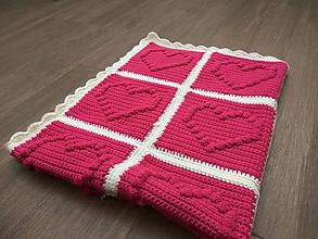 Textil - Deka do kočíka pre dievčatko - 10647468_