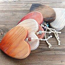 Dekorácie - Tradičné Drevené Srdce - 10647375_
