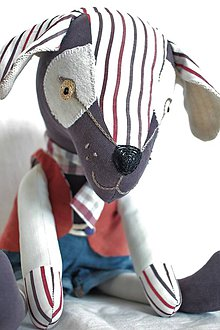 Hračky - Pes Boris - 10648617_