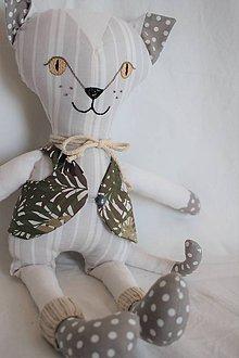 Hračky - Mačka Bela - 10648634_