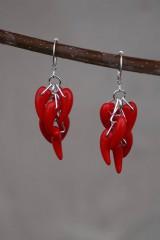 Náušnice - Náušnice - Red Hot Chilli - 10649628_