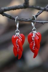 Náušnice - Náušnice - Red Hot Chilli - 10649641_