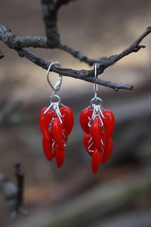 Náušnice - Red Hot Chilli