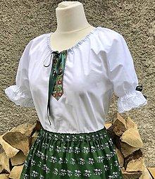 f1fc2268732c Košele - Folklórna blúzka Vierka - 10648453