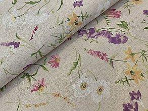 Textil - Bavlna dekor dovoz Taliansko - 10649988_