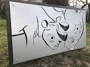 Obrazy - Black Rhino - 10650199_