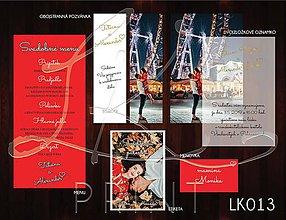 Papiernictvo - Svadobné oznámenie LK013 - 10648195_