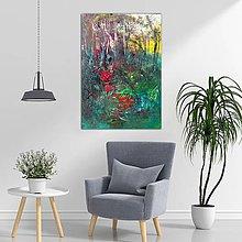 Obrazy - Tmavý les, 70x100 - 10649278_