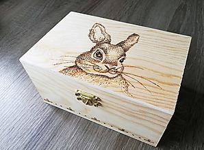 Krabičky - Box z prírodného dreva - portrét Vášho miláčika - 10649357_