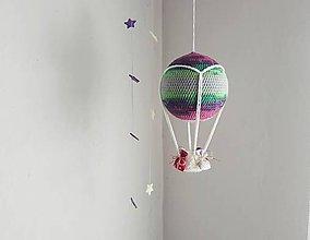 Hračky - Háčkovaný balón - 10649714_
