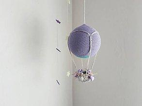 Hračky - Háčkovaný balón - 10649733_