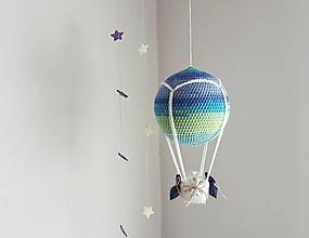 Hračky - Háčkovaný balón - 10649797_
