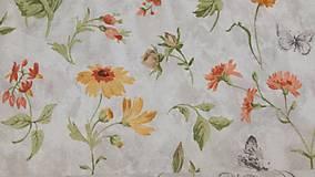 Textil - Jarná....š.140cm - 10647766_