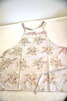 Iné oblečenie - bavlnená zástera - 10648082_