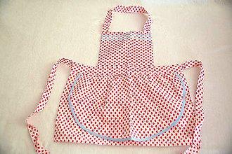 Iné oblečenie - detská zásterka do kuchyne - 10648095_