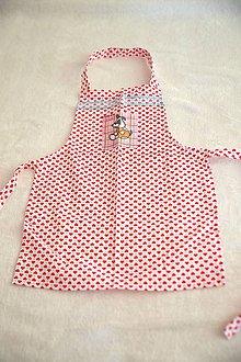 Iné oblečenie - detská zásterka do kuchyne - 10648102_