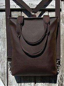 "Batohy - ""backpack 3in1- basic brown"" - Batoh & taška cez rameno - 10647969_"
