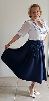 Šaty - Spoločensko folklorna súprava - 10648680_