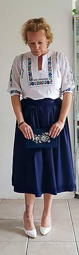 Šaty - Spoločensko folklorna súprava - 10648681_