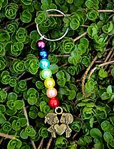 Kľúčenky - Čakrová kľúčenka- Zaľúbený párik - 10648711_