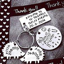 Kľúčenky - KRÁSNA RODINKA .. ježková :)) - 10652075_