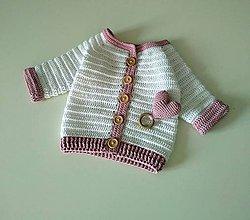 Detské oblečenie - Krstinový - 10651921_