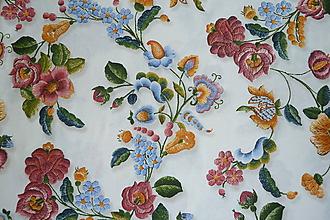 Textil - Látka Plná výšivka - 10651818_
