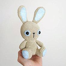 Hračky - Zajko (baby boy) - 10651526_
