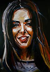 Obrazy - portrety - 10651785_