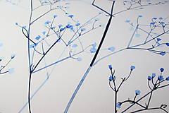 Obrazy - Reprodukcia akvarelu - Gypsomilka - 10651986_