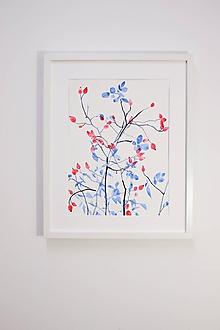 Obrazy - Reprodukcia akvarelu - Šípky - 10652029_