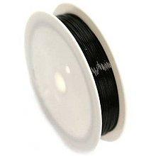 Komponenty - Medený drôt Čierna 6 priemerov - 10651429_