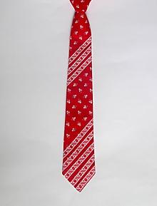 Doplnky - folková kravata s krojovkou - 10651648_