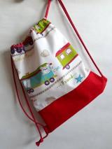 Detské tašky - Vrecúško na prezuvky - vak- ruksak- pre deti - 10651119_