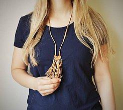 Náhrdelníky - Letný náhrdelník, Náhrdelník pre dievčatá - 10652280_